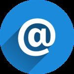 at sign, email, news