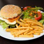 hamburger, food, burger